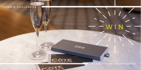 Christmas Countdown – win Cote Brasserie voucher