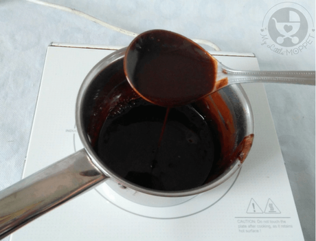 A little drizzle of chocolate sauce makes everything better! Skip the store bought versions and make your own homemade chocolate sauce for your kids to enjoy!