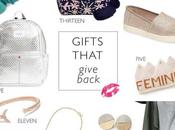 Gifts That Give Back Green Monday