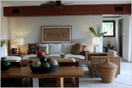hot tropical interior