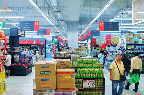 NEW HYPERMART CONCEPT NTUC FAIRPRICE XTRA AT JURONG POINT