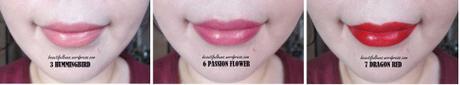 Review/Swatches: Cle De Peau Lipstick – 3 shades