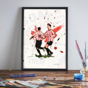 The Sunderland v Fulham Guess the Score with classy Niall/SuperKev prize