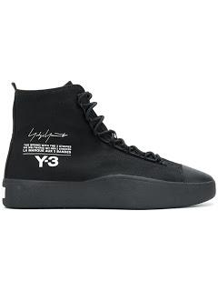 Style For Either Winter Or Spring:  Y-3 Bashyo Sneaker