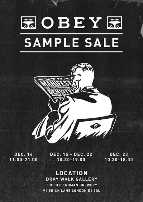 Obey Clothing London Sample Sale