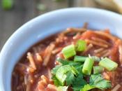 Vegan Sopa Fideo (Mexican Noodle Soup)