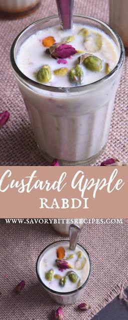 Custard Apple Rabdi (Sitafal Basundi)