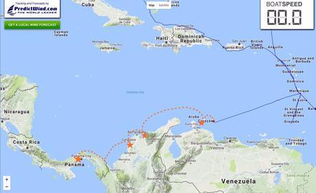 Caribbean track