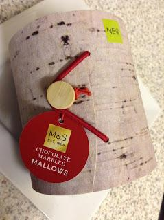 Marks & Spencer Chocolate Marbled Mallows