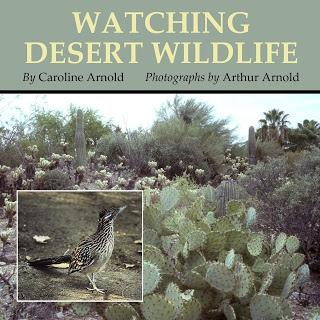 WATCHING DESERT WILDLIFE, Now Available as a Kindle Book