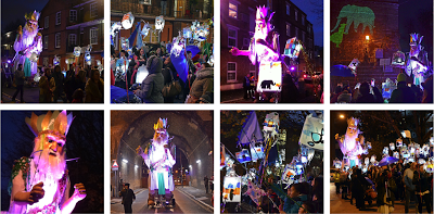 Festive events South, North and East