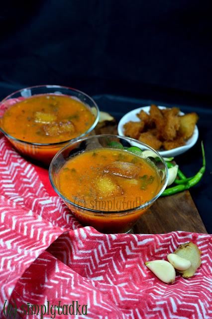 Carrot Tomato Shorba | Spicy Gajar Tamatar Shorba