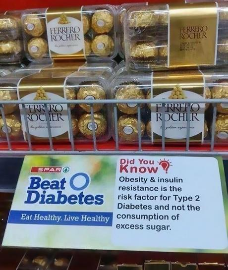 Fight type 2 diabetes… with sugary pralines?