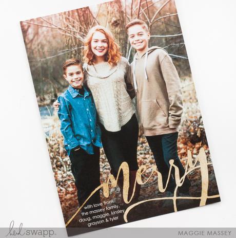 Christmas Card Photos   Heidi Swapp Instax