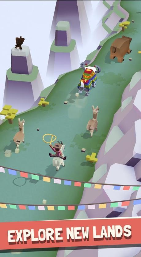 Rodeo Stampede:Sky Zoo Safari   Apkplaygame.com