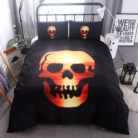 skull bed sets