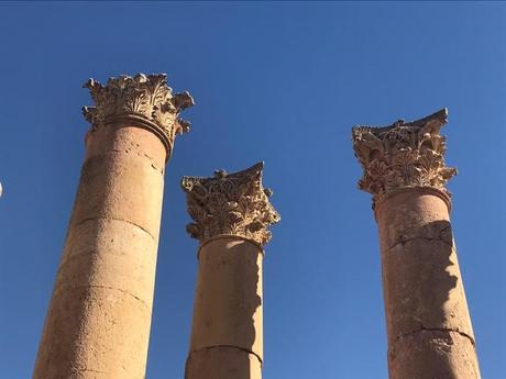 Jordan – Magnificent Ruins – and a Few Flowers