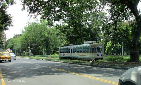 Tram road in Triplicane ~ trams dubbed as slower than walk in Dublin