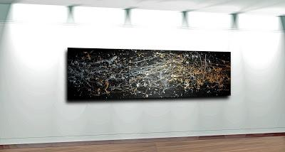 art - mike philbin - black, black, paint it black...
