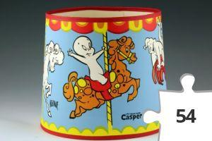 Jigsaw puzzle - Casper and friends lampshade