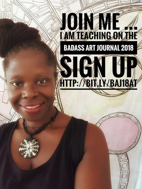 Online Art Journal Class - Sneak Peak 2