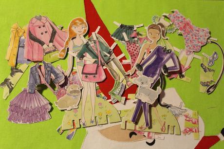 Paper Poppets