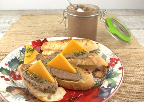 Easy Chicken Liver Pâté for #SundaySupper