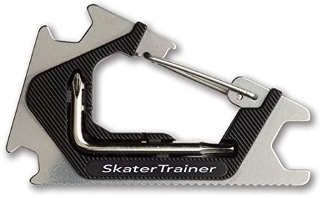 Pocket Skate Tool |Clip It On & Always Have It | Metal Design | Adjust Everything on your Skateboard, Longboard,...
