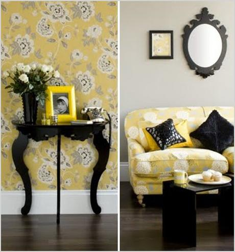 black yellow inspiration