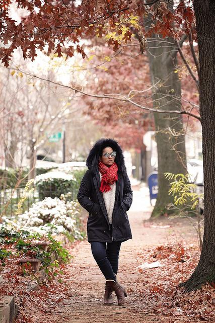 Winter Look Nordstrom Tanvii.com