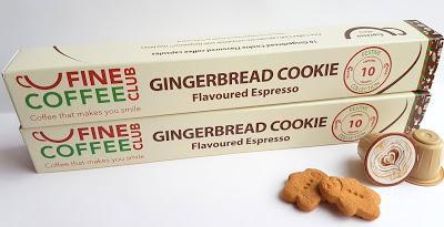 Fine Coffee Club Gingerbread Cookie Flavoured Espresso (Nespresso Compatible)