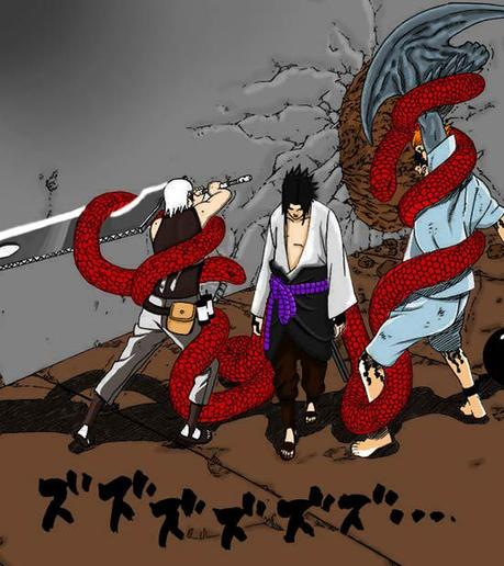 Five Ninja Who Saved Sasuke