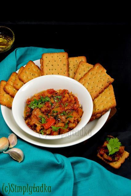 Zaalouk Moroccan | Moroccan Aubergine Salad
