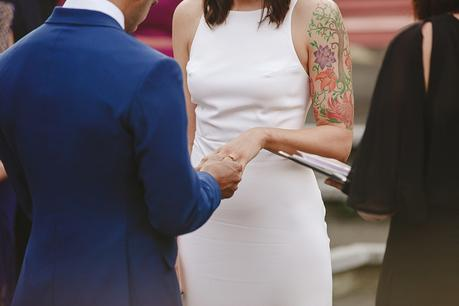 Minimalist Cultural Fusion Wedding