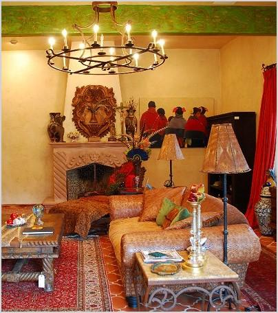 Southwestern American Indian Mexican Decorating Theme Bedrooms Maries Manor  Southwestern From Native American Living ...