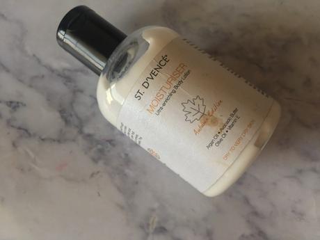 st d'vence moisturiser ultra enriching body lotion review