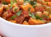 Sweet Potato Curry with Chickpeas