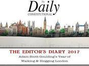 Daily Constitutional Editor's Diary 2017 April May: Pink Floyd, Belgian Beer, Rain, @orbitalcomics Dinosaur Pedicures