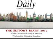 Daily Constitutional Editor's Diary 2017 June: Wonder Woman, Camping, Cycling, Epping Forest, Pink Floyd Cream Soda
