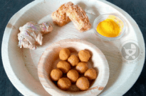 Jaggery Ginger Turmeric Balls for Toddlers
