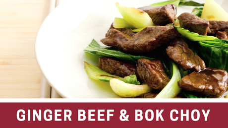 Ginger Beef And Bok Choy – 5 Ingredient Paleo Recipe