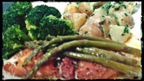 Cod & Asparagus Parcels