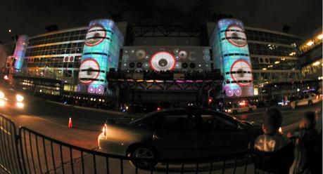 Video Art: 3D mapping projection