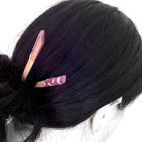 Make Your Own Chopstick Hairpiece