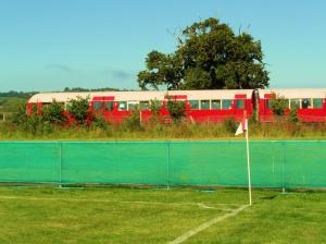 When Groundhopping meets Trainspotting