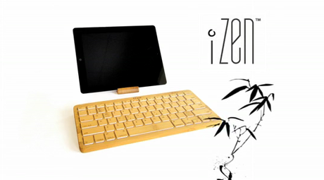 Bamboo Keyboard from iZen