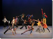 Matthew Rushing & Company in HOME Choreography by Rennie Harris  Alvin Ailey American Dance Theater Credit Photo: Paul Kolnik studio@paulkolnik.com nyc 212-362-7778