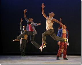 HOME Choreography by Rennie Harris  Alvin Ailey American Dance Theater Credit Photo: Paul Kolnik studio@paulkolnik.com nyc 212-362-7778