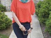 Outfit Post: Polka Dots Turquoise
