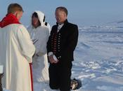 Borge Ousland Gets Married North Pole